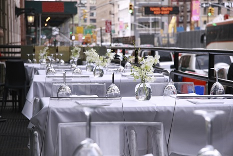Restaurant in NYC with Outside Dining